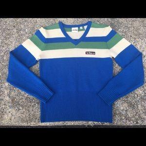 Vintage Ellesse Sweater 100% Merino Wool Pullover